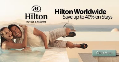 Hilton Worldwide: Save up to 40% on Stays